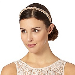 No. 1 Jenny Packham - Designer rose beaded headband