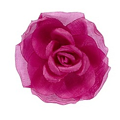 The Collection - Purple flower hair clip
