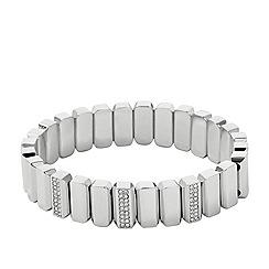 Fossil - Vintage glitz stretch-bracelet in silver-tone