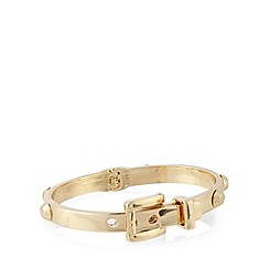 The Collection - Gold plated belt bracelet