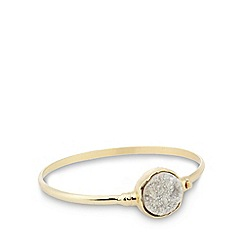 No. 1 Jenny Packham - Designer gold plated druzy statement bangle