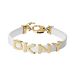 DKNY - Parsons white leather bracelet