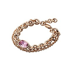 Dyrberg Kern - Rose gold 'elisa' linked bracelet
