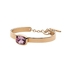 Dyrberg Kern - Rose gold 'nica' C-bangle