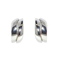 Finesse - Silver wave earrings