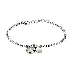 STORM - Ladies silver crystal bracelet