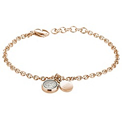 STORM - Ladies rose gold crystal bracelet