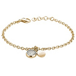 STORM - Ladies gold crystal bracelet