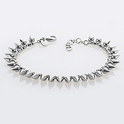 STORM - Ladies silver steel bracelet