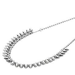 STORM - Ladies silver steel necklace