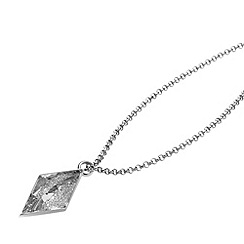 STORM - Ladies silver crystal necklace