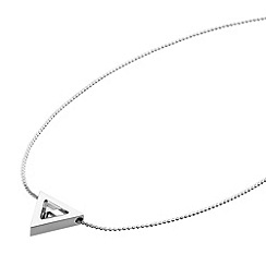 STORM - Ladies silver steel necklace