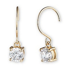 Anne Klein - Rose gold drop earring