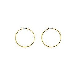 Anne Klein - Gold hoop earring