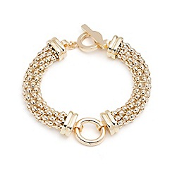 Anne Klein - Gold circle bracelet
