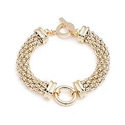 Anne Klein - Gold circle bracelet