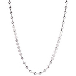 Anne Klein - Long silver necklace