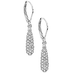 Anne Klein - Silver acorn earrings