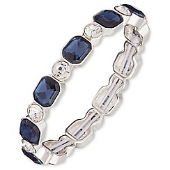 Anne Klein - Silver and blue stone bracelet