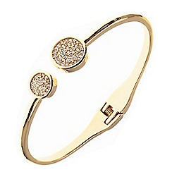 Anne Klein - Gold and pave bracelet