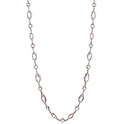 Anne Klein - Gold long necklace
