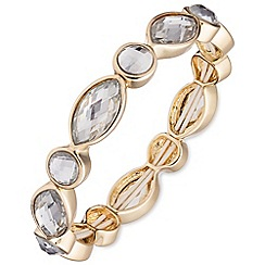 Anne Klein - Gold and crystal bracelet