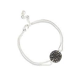 Pilgrim - Silver plated stud bracelet