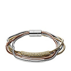 Fossil - Ladies gold bracelet