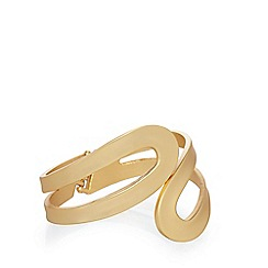 Fiorelli - Gold plated matte bangle