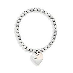 Fiorelli - Silver plated heart bracelet