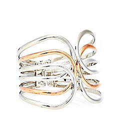 Fiorelli - Silver plated cut out bracelet