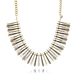 Fiorelli - Gold plated spiked necklace