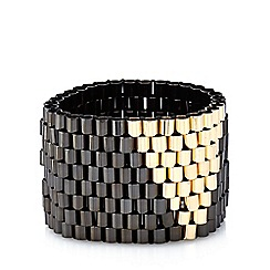 Fiorelli - Black triangle tube bracelet