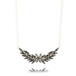 Fiorelli - Gold plated leaf necklace
