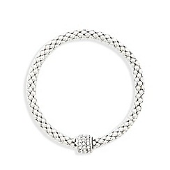 Fiorelli - Silver plated stone bracelet