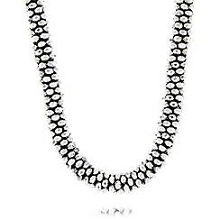 Fiorelli - Grey tube necklace