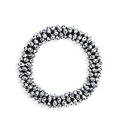 Fiorelli - Grey hammered stone bracelet