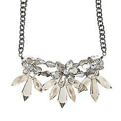 Fiorelli - Grey crystal necklace