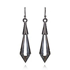 Fiorelli - Black crystal earrings