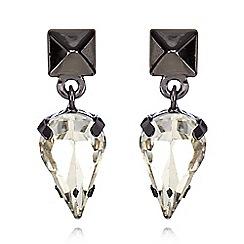 Fiorelli - Black stone spike necklace
