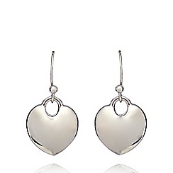 Fiorelli - Silver plated heart earrings