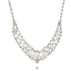 Fiorelli - Silver plated stone necklace