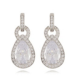 No. 1 Jenny Packham - Sterling silver door knocker earrings