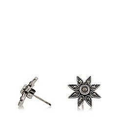 No. 1 Jenny Packham - Silver marcasite flower earrings