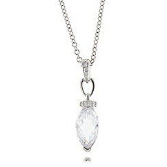 No. 1 Jenny Packham - Sterling silver gem necklace