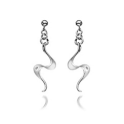Hot Diamonds - Sterling silver 'Pirouette' earrings