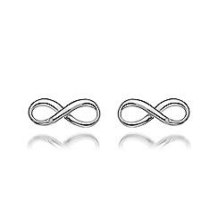 Hot Diamonds - Sterling silver 'Infinity' earrings