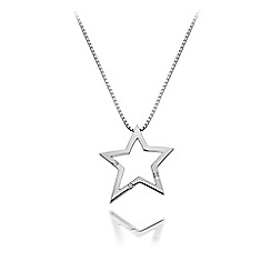 Hot Diamonds - Sterling silver 'Distinctive' pendant