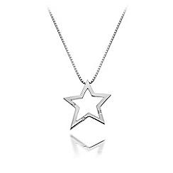 Hot Diamonds - Sterling silver 'Distinctive' pendant