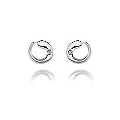Hot Diamonds - Sterling silver 'Aqua' earrings